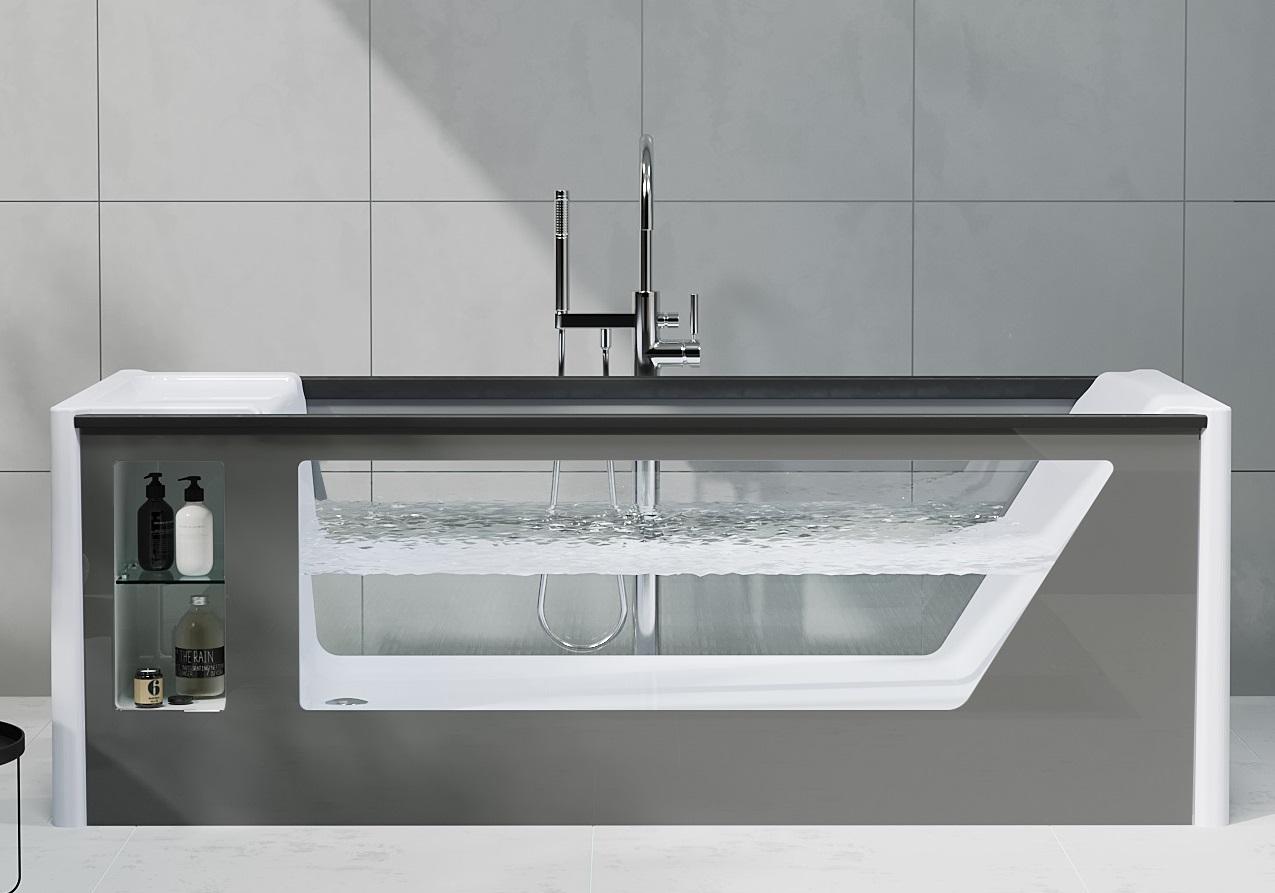 Ванна AIMA Design GENESIS 180x75 - купить в Новокузнецке по цене 130 000 Р в интернет-магазине Marka